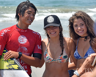 Kanoa Igarashi at the 2016 US Open of Surfing