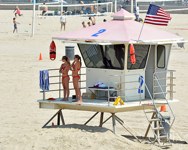 Lifeguard tower 2 Huntington Beach