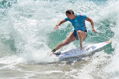 Carissa Moore at the 2018 US Open of Surfing