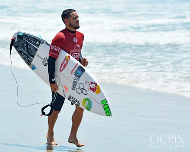 Adriano De Souza at the 2018 US Open of Surfing
