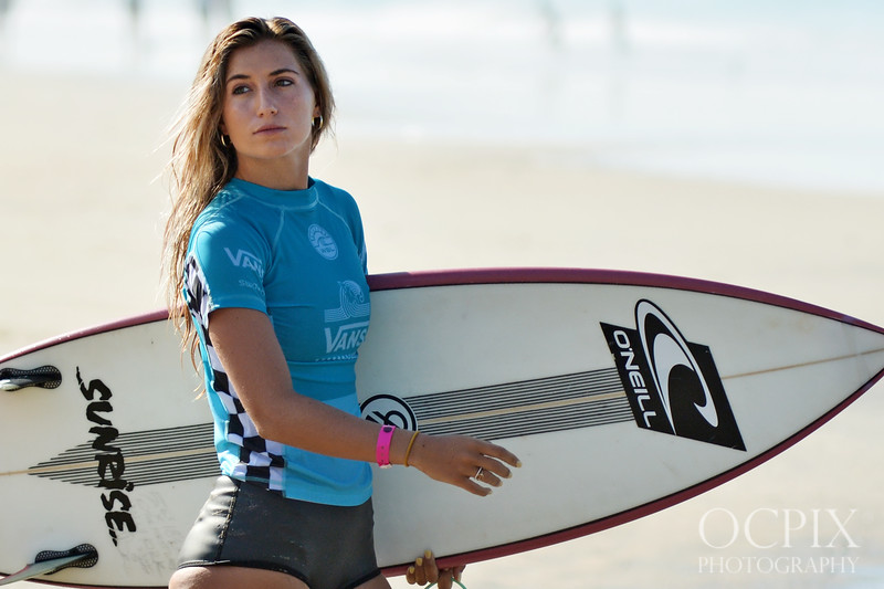 Molly Kirk at the 2018 US Open of Surfing