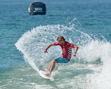 Beyrick De Vries at the 2018 US Open of Surfing