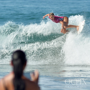 Zoe McDougall at the 2018 US Open of Surfing