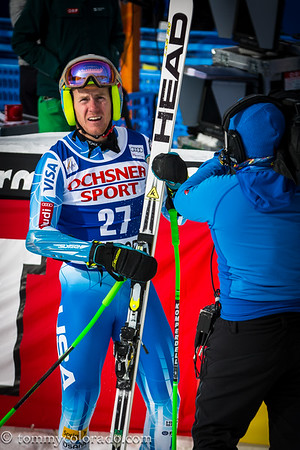 Ted Ligety at Birds Of Prey at Beaver Creek