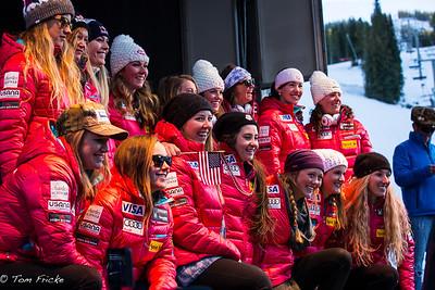 Your US Ladies Alpine Ski Team