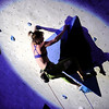 "Chelsea Rude shows her skills during USA Climbing's Sport Climbing Series national championships at Movement Climbing and Fitness on Saturday, April 2, in Boulder. For more photos go to  <a href=""http://www.dailycamera.com"">http://www.dailycamera.com</a><br /> Jeremy Papasso/ Camera"