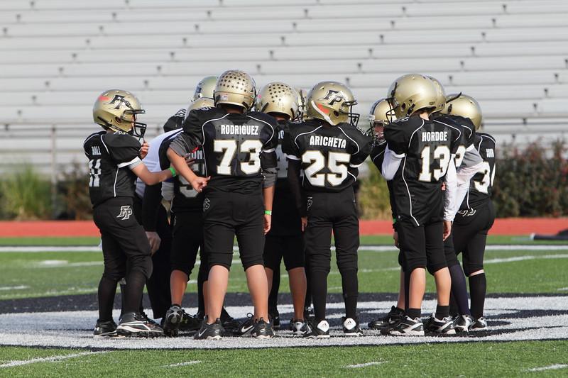 USA Football Youth Tournament League Game.