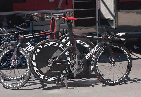 BMC time trial bikes