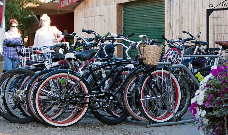 Bikes at the bar - Bike Town USA