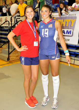 USA Women's VB vs Japan