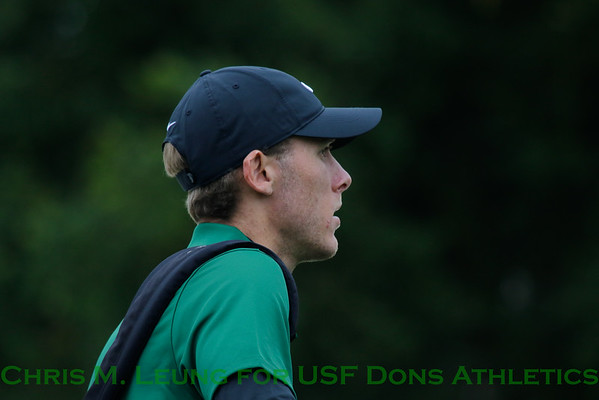 9/12/16: MG USF Olympic Club Invitational at Olympic Club in Daly City, CA.  Image by Chris M. Leung for USF Athletics