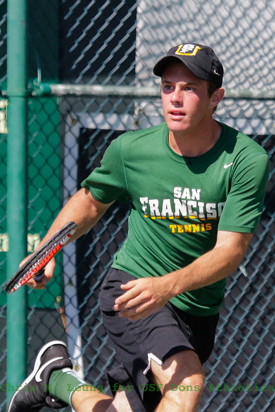 9/23/16: Battle of the Bay Classic at California Tennis Club in San Francisco, CA.  Image by Chris M. Leung for USF Dons Athletics