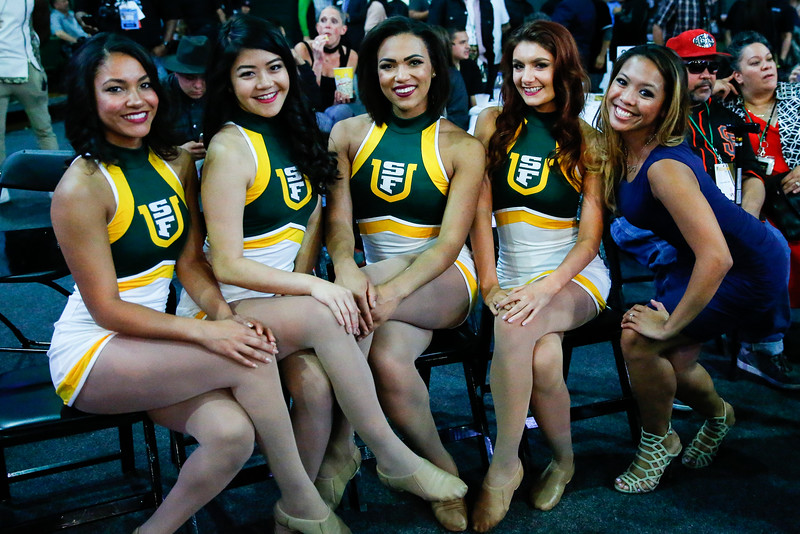 9/30/16: Friday Night Fights at Sobrato Center in San Francisco, CA.  Image by Chris M. Leung for USF Dons Athletics
