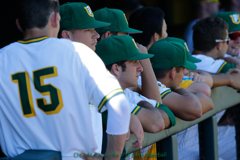 10/8/16 Benedetti Diamond in San Francisco, CA. BASE Alumni Game. Image by Chris M. Leung for USF Dons Athletics