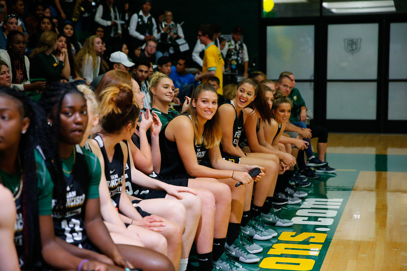 10/8/16: 2016 HoopSFest War Memorial Gym in San Francisco, CA.  Image by Chris M. Leung for USF Dons Athletics