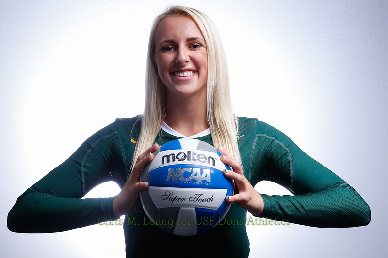 2017 USF Womens Volleyball headshots