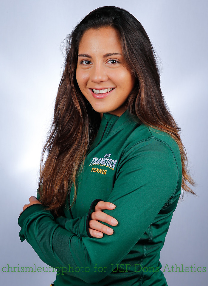 8/28/17: USF WTEN: MARGARITA TREYES at War Memorial Gym in San Francisco, CA.  Image by Chris M. Leung for USF Dons Athletics