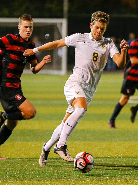9/23/16: MSOC vs Stanford at Negoesco Field in San Francisco, CA.  Image by Chris M. Leung for USF Dons Athletics