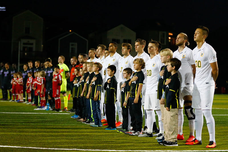 10/14/16: MSOC vs Portland Negoesco Field in San Francisco, CA.  Image by Chris M. Leung for USF Dons Athletics