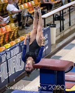 USU Gymnastics Blue vs White 12/7/2018