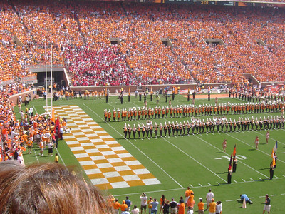 "UT Band forming the ""T""."