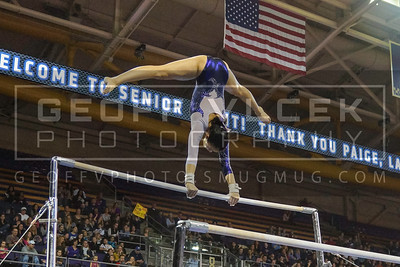 3/15/13- UW Gymnastics vs BYU & SPU