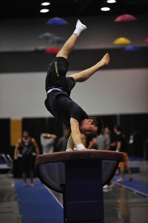 UW Gymnastics Meet Tacoma Convention Center