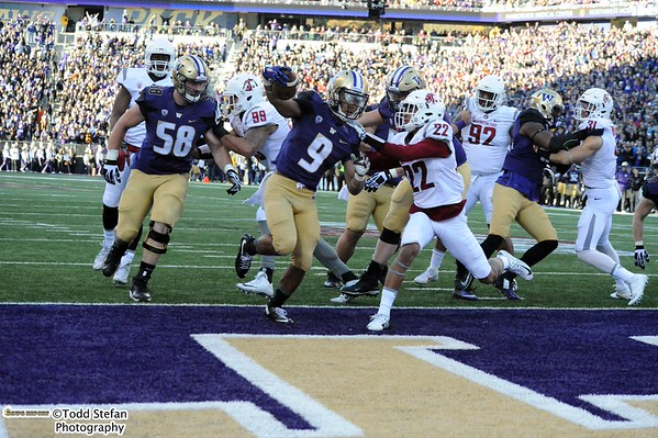 11-27-2015 UW Huskies vs WSU Cougars - Apple Cup