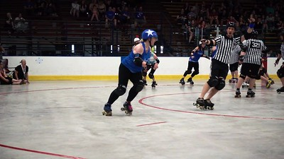 Roller Derby in Slow Motion: Udder Chaos
