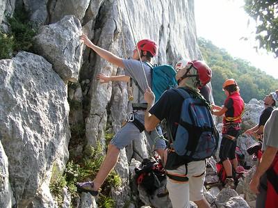 Ugolini BS - Corso Introduzione Alpinismo 2010 - Uscita in ambiente alpino - Gaino  (thanks to Dalbo)