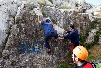 85° Corso Roccia - Rudimenti e Movimenti su Roccia