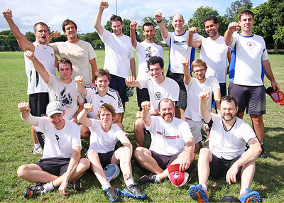 Barbarians. Ultimate Disc, the Ides of March. Photography by Trent Williams