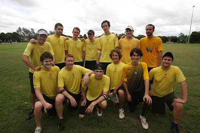 Ultimate Disc, the Ides of March. Photography by Trent Williams