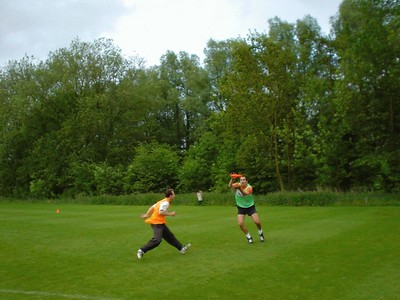 Ultimate Frisbee at TU Delft