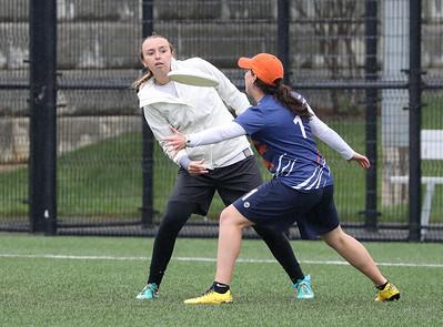 JMU vs UVA Women's Ultimate (22 Apr 2017)