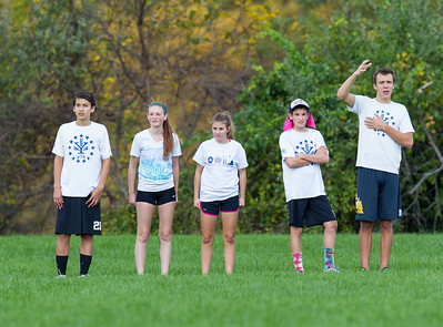 Yorktown vs Yorktown Coed Ultimate (18 Oct 2014)