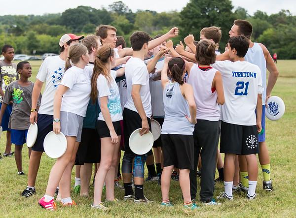 Yorktown vs Huck and Learn (13 Sep 2014)