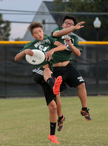 Yorktown @ Wakefield Boys Ultimate (06 Oct 2016)
