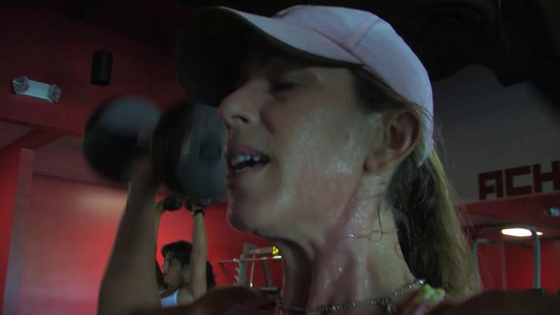 The Ulitmate workout at Ellen's in Davie, Florida
