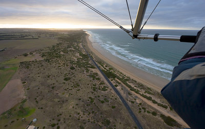 Ultralight Flight from Barwon Heads to Queenscliff