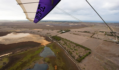 Barwon Heads Airport - runway now in sight
