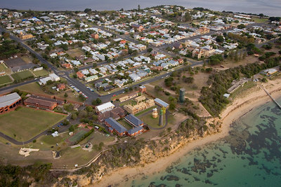 Fort Queenscliff - front view