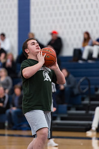 Eddie Holmes takes a shot for the Abington Unified Basketball team against Hanover on 2/13/18 at Hanover High School [Courtesy Photo/Bill Marquardt]