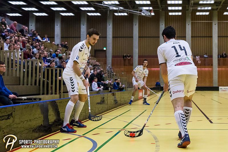 NLA Herren Playoffs - Viertelfinal - Spiel 2: Zug United - Floorball Köniz - 9:6