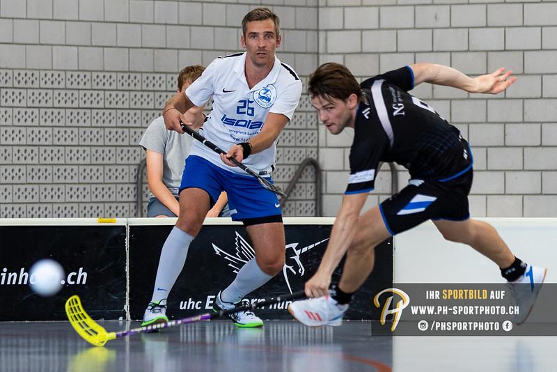 Schweizer Cup - 1/32-Final - 18/19: UHC Einhorn Hünenberg - Zürisee Unihockey - 19-08-2018