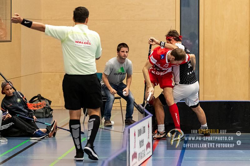 Swiss Unihockey Cup - 1/8-Final - 18/19: Zug United - Floorball Köniz - 28-10-2018
