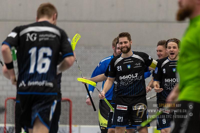 Herren 2. Liga - Playoffs - Spiel 2 - 18/19: UHC Einhorn Hünenberg - UHC Laupen - 16-03-2019