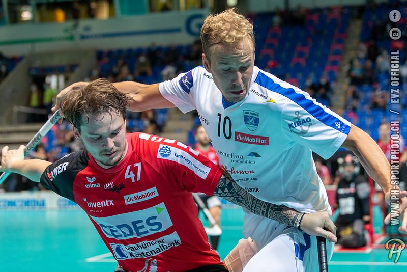 Unihockey Supercup 2020 Halbfinal Männer: Alligator Malans vs. Zug United