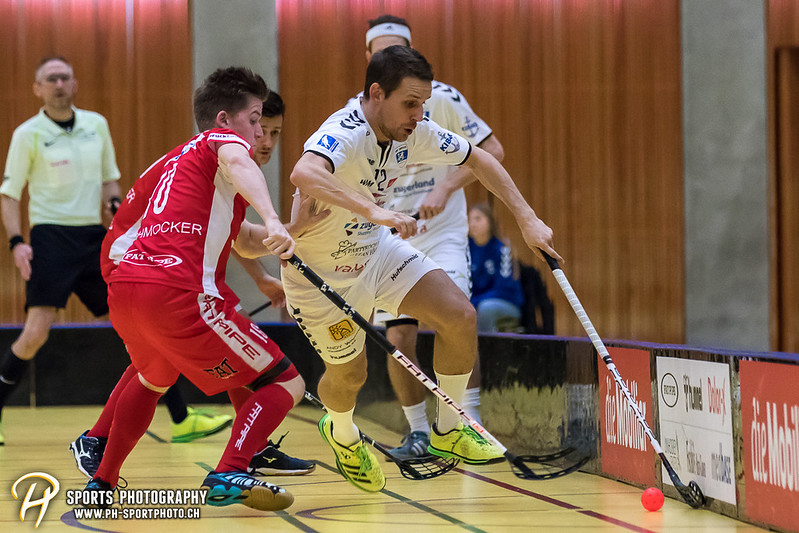 NLA Herren: Zug United - Floorball Köniz - 9:10 OT