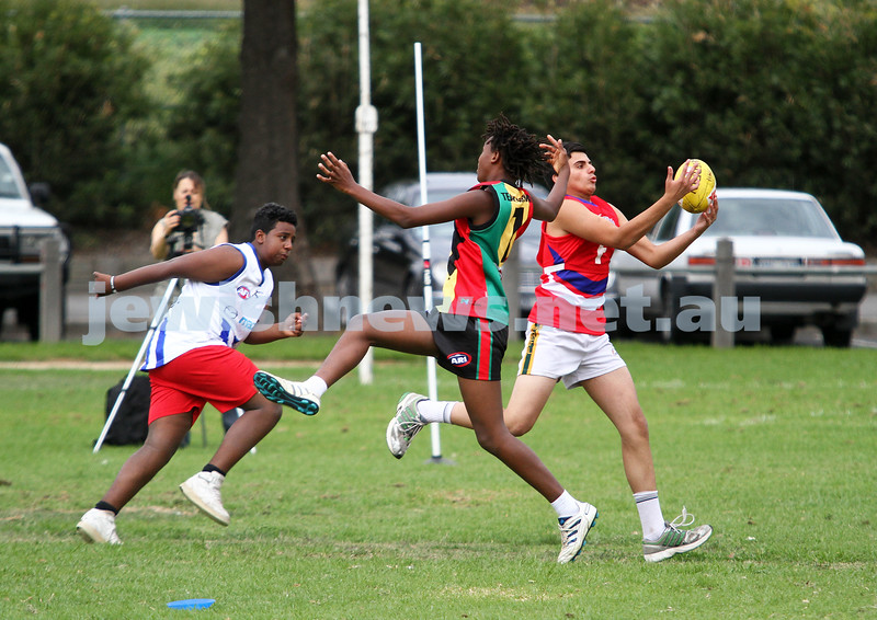 25-3-12. Unity Cup 2012. MUJU v African Warriors. Photo: Peter Haskin
